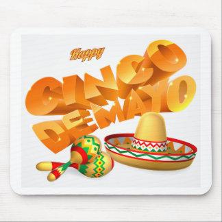 Cinco De Mayo Sign Mouse Pad