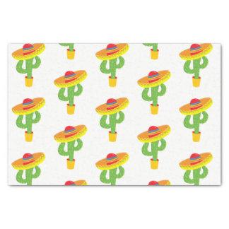 Cinco De Mayo Sombrero Cactus Mexican Fiesta Tissue Paper