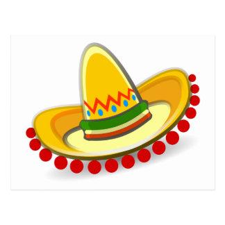 Cinco de Mayo Sombrero Postcard
