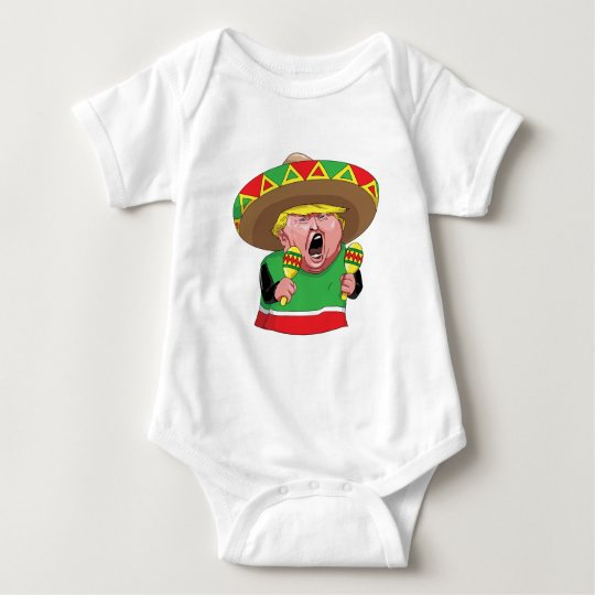 Cinco de Mayo trump Baby Bodysuit