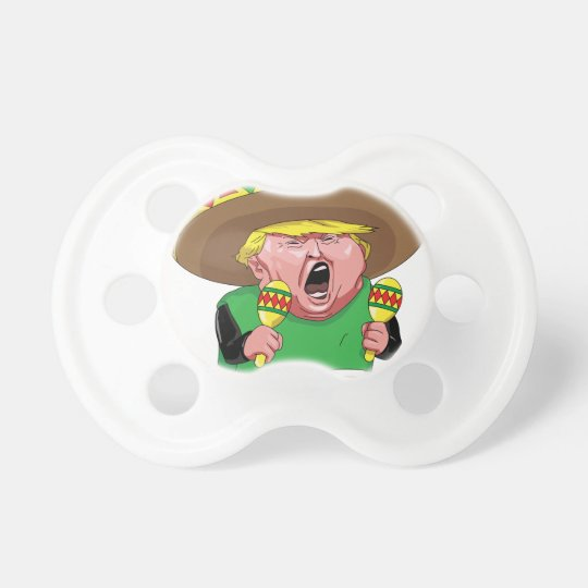 Cinco de Mayo trump Baby Pacifiers