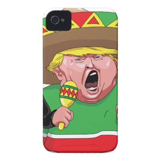 Cinco de Mayo trump Case-Mate iPhone 4 Case