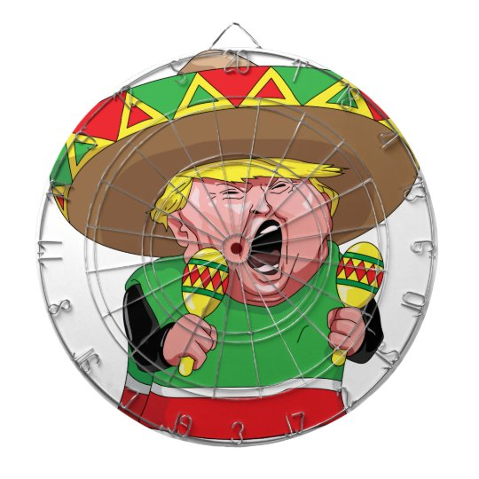 Cinco de Mayo trump Dartboard