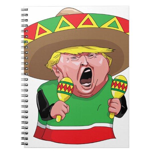 Cinco de Mayo trump Notebook