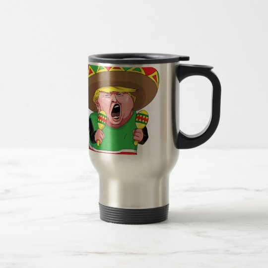 Cinco de Mayo trump Travel Mug