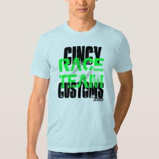 Cincy Customs Race Team Tee Shirts