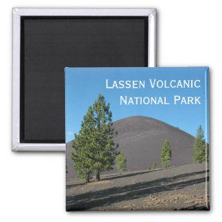 Cinder Cone, Lassen Volcanic National Park, CA Square Magnet