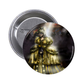 Cinder Girl 6 Cm Round Badge