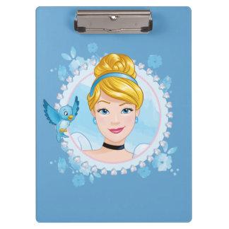Cinderella And Blue Bird Clipboard