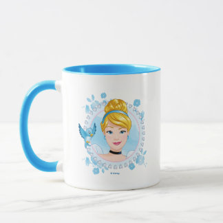 Cinderella And Blue Bird Mug