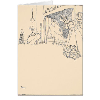 Cinderella and her Two Sisters Card