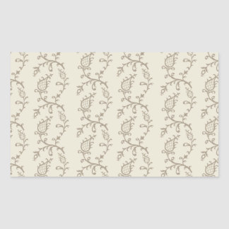 Cinderella Beige Rectangular Sticker