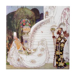 Cinderella by Kay Nielsen Ceramic Tile