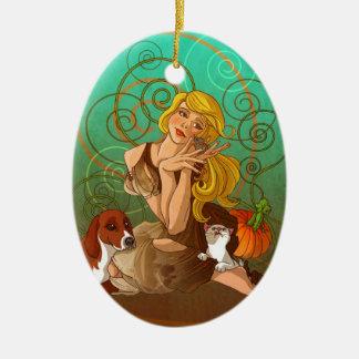 Cinderella Ceramic Ornament