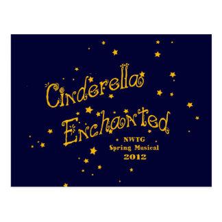 Cinderella Enchanted Postcard