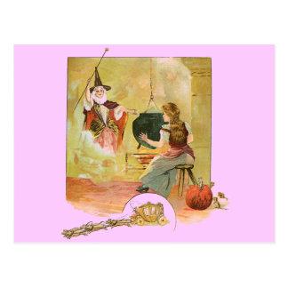 Cinderella Fairytale Postcard