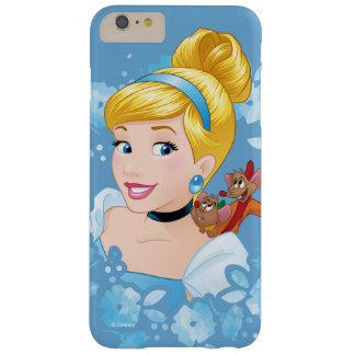 Cinderella | Flower Frame And Mice Barely There iPhone 6 Plus Case