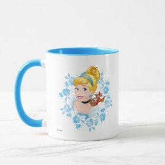 Cinderella | Flower Frame And Mice Mug