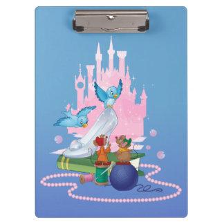 Cinderella | Glass Slipper And Mice Clipboard