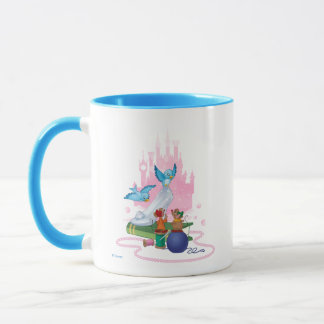Cinderella | Glass Slipper And Mice Mug