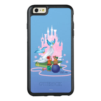 Cinderella | Glass Slipper And Mice OtterBox iPhone 6/6s Plus Case