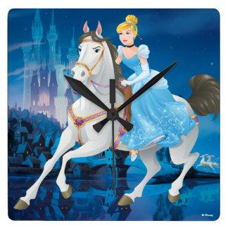 Cinderella | Have Courage Square Wall Clock