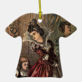 Cinderella Helping her Step-Sisters Ceramic T-Shirt Decoration