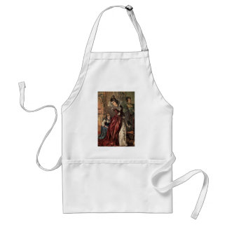 Cinderella Helping her Step-Sisters Standard Apron