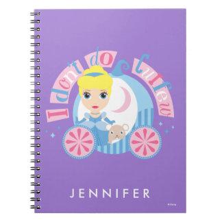 Cinderella | I Don't Do Curfew Notebook