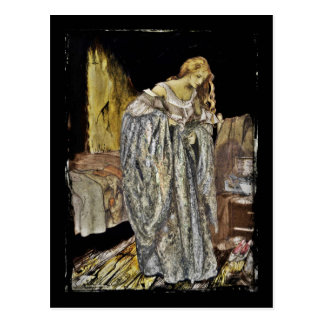 Cinderella in the Attic Postcard