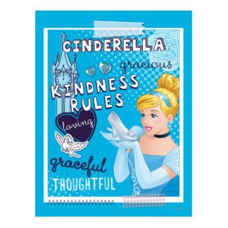 Cinderella - Kindness Rules Postcard