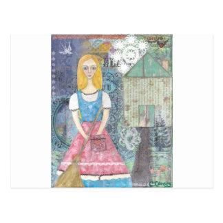 Cinderella Postcard
