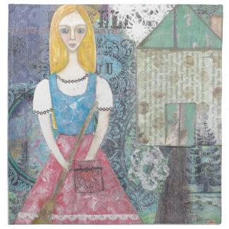 Cinderella Printed Napkins