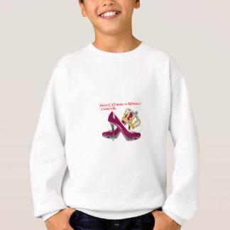 Cinderella shoes and crown transparent2.png sweatshirt