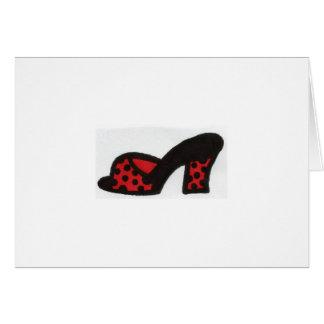 Cinderella Shoes Card