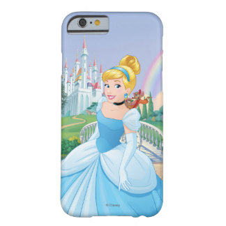 Cinderella With Gus & Jaq Barely There iPhone 6 Case