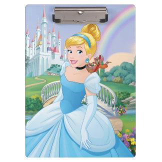 Cinderella With Gus & Jaq Clipboard