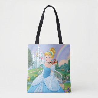 Cinderella With Gus & Jaq Tote Bag