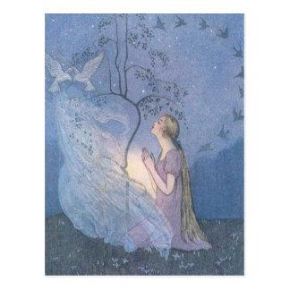 Cinderella's Wish, Postcard