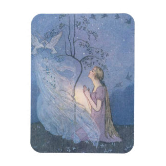 Cinderella's Wish, Rectangular Photo Magnet