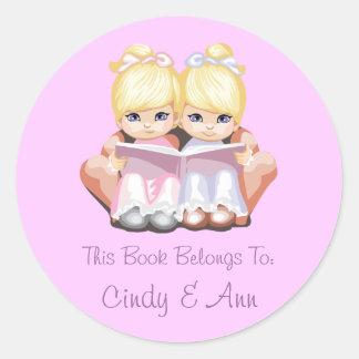 Cindy & Ann Book Label Sticker