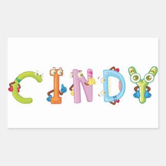 Cindy Sticker