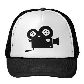 CINE CAMERA (BLACK & WHITE) Trucker Hat
