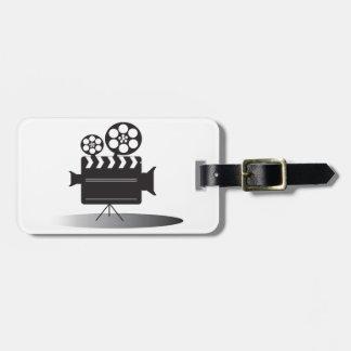 Cine Camera Luggage Tag