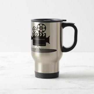 Cine Camera Stainless Steel Travel Mug