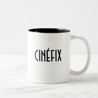 CINÉFIX packs black & white Two-Tone Mug