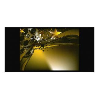 cinema1 photo card template