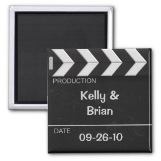 Cinema Clapper Board Magnet Favor