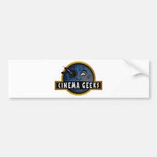 Cinema Geeks Bumper Sticker