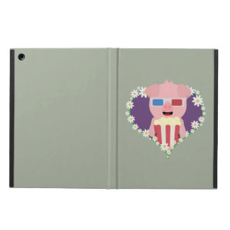 Cinema Pig with flower heart Zvf1w iPad Air Case